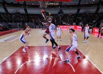Andrea Renzi Virtus Roma - 2B Control Trapani Campionato Basket LNP 2018/2019 Roma 18/11/2018 Foto Gennaro Masi / Ciamillo-Castoria