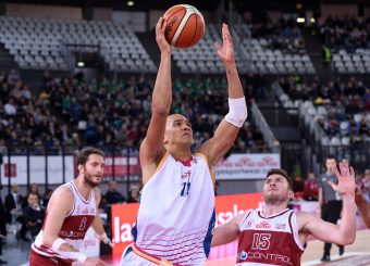 Daniele Sandri Virtus Roma - 2B Control Trapani Campionato Basket LNP 2018/2019 Roma 18/11/2018 Foto Gennaro Masi / Ciamillo-Castoria