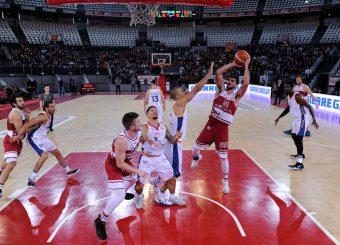 Rei Pullazi Virtus Roma - 2B Control Trapani Campionato Basket LNP 2018/2019 Roma 18/11/2018 Foto Gennaro Masi / Ciamillo-Castoria