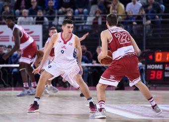 Edoardo Lucarelli Virtus Roma - 2B Control Trapani Campionato Basket LNP 2018/2019 Roma 18/11/2018 Foto Gennaro Masi / Ciamillo-Castoria