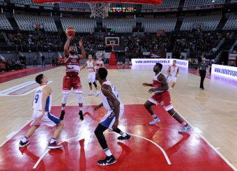 Cameron Ayers Virtus Roma - 2B Control Trapani Campionato Basket LNP 2018/2019 Roma 18/11/2018 Foto Gennaro Masi / Ciamillo-Castoria