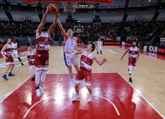 Rei Pullazi Amar Alibegovic Virtus Roma - 2B Control Trapani Campionato Basket LNP 2018/2019 Roma 18/11/2018 Foto Gennaro Masi / Ciamillo-Castoria