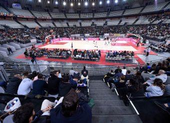 Palazzo dello Sport Virtus Roma - 2B Control Trapani Campionato Basket LNP 2018/2019 Roma 18/11/2018 Foto Gennaro Masi / Ciamillo-Castoria