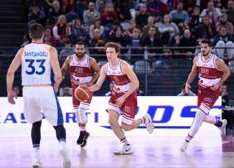 Federico Miaschi Virtus Roma - 2B Control Trapani Campionato Basket LNP 2018/2019 Roma 18/11/2018 Foto Gennaro Masi / Ciamillo-Castoria