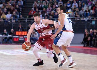 Rotnei Clarke Virtus Roma - 2B Control Trapani Campionato Basket LNP 2018/2019 Roma 18/11/2018 Foto Gennaro Masi / Ciamillo-Castoria