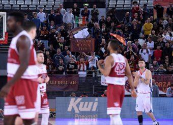 Tifosi Virtus Roma Virtus Roma - 2B Control Trapani Campionato Basket LNP 2018/2019 Roma 18/11/2018 Foto Gennaro Masi / Ciamillo-Castoria