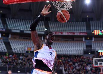 Henry Sims Virtus Roma - 2B Control Trapani Campionato Basket LNP 2018/2019 Roma 18/11/2018 Foto Gennaro Masi / Ciamillo-Castoria
