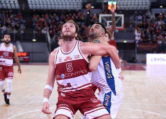 Andrea Renzi Aristide Landi Virtus Roma - 2B Control Trapani Campionato Basket LNP 2018/2019 Roma 18/11/2018 Foto Gennaro Masi / Ciamillo-Castoria