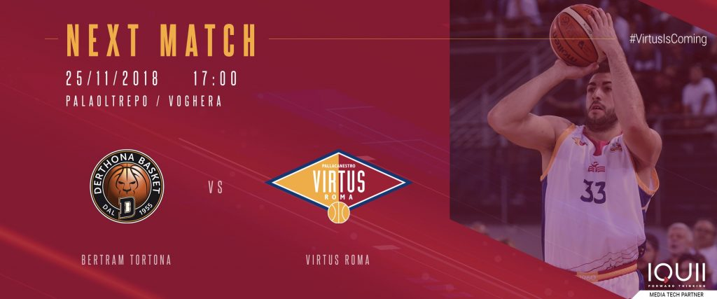 Virtus-Tortona - Next-Match Serie A2