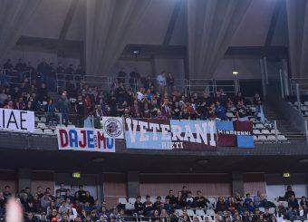 tifosi Zeus Energy Group Rieti Virtus Roma - Zeus Energy Group Rieti Campionato Basket LNP 2018/2019 Roma 02/12/2018 Foto Gennaro Masi / Ciamillo-Castoria