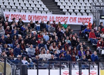 tifosi Virtus Roma - Zeus Energy Group Rieti Campionato Basket LNP 2018/2019 Roma 02/12/2018 Foto Gennaro Masi / Ciamillo-Castoria