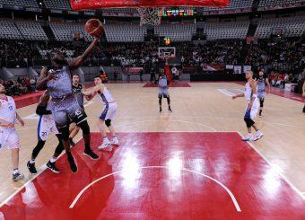 Ogooluwa Adegboye Virtus Roma - Zeus Energy Group Rieti Campionato Basket LNP 2018/2019 Roma 02/12/2018 Foto Gennaro Masi / Ciamillo-Castoria