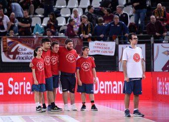 Ragazzi Special Olympics Virtus Roma - Zeus Energy Group Rieti Campionato Basket LNP 2018/2019 Roma 02/12/2018 Foto Gennaro Masi / Ciamillo-Castoria