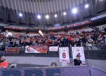 tifosi Virtus Roma Virtus Roma - Zeus Energy Group Rieti Campionato Basket LNP 2018/2019 Roma 02/12/2018 Foto Gennaro Masi / Ciamillo-Castoria