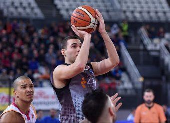 Alberto Conti Virtus Roma - Zeus Energy Group Rieti Campionato Basket LNP 2018/2019 Roma 02/12/2018 Foto Gennaro Masi / Ciamillo-Castoria