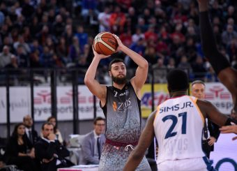 Daniele Toscano Virtus Roma - Zeus Energy Group Rieti Campionato Basket LNP 2018/2019 Roma 02/12/2018 Foto Gennaro Masi / Ciamillo-Castoria