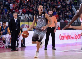 Juan Marcos Casini Virtus Roma - Zeus Energy Group Rieti Campionato Basket LNP 2018/2019 Roma 02/12/2018 Foto Gennaro Masi / Ciamillo-Castoria