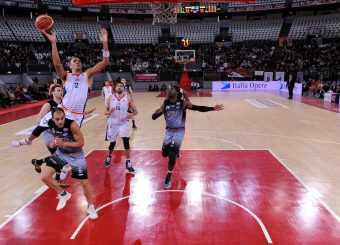 Daniele Sandri Virtus Roma - Zeus Energy Group Rieti Campionato Basket LNP 2018/2019 Roma 02/12/2018 Foto Gennaro Masi / Ciamillo-Castoria