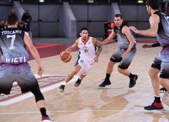 Nic Moore Virtus Roma - Zeus Energy Group Rieti Campionato Basket LNP 2018/2019 Roma 02/12/2018 Foto Gennaro Masi / Ciamillo-Castoria