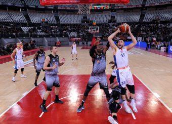 Marco Santiangeli Virtus Roma - Zeus Energy Group Rieti Campionato Basket LNP 2018/2019 Roma 02/12/2018 Foto Gennaro Masi / Ciamillo-Castoria