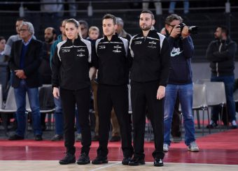 Arbitri Virtus Roma - Remer Blu Basket Treviglio Campionato Basket LNP 2018/2019 Roma 23/12/2018 Foto Gennaro Masi / Ciamillo-Castoria