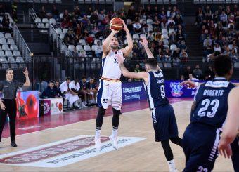 Marco Santiangeli Virtus Roma - Remer Blu Basket Treviglio Campionato Basket LNP 2018/2019 Roma 23/12/2018 Foto Gennaro Masi / Ciamillo-Castoria