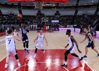Chris Roberts Virtus Roma - Remer Blu Basket Treviglio Campionato Basket LNP 2018/2019 Roma 23/12/2018 Foto Gennaro Masi / Ciamillo-Castoria