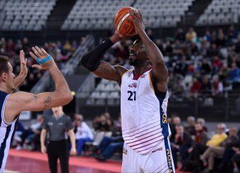 Henry Sims Virtus Roma - Remer Blu Basket Treviglio Campionato Basket LNP 2018/2019 Roma 23/12/2018 Foto Gennaro Masi / Ciamillo-Castoria
