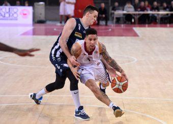 Nic Moore Virtus Roma - Remer Blu Basket Treviglio Campionato Basket LNP 2018/2019 Roma 23/12/2018 Foto Gennaro Masi / Ciamillo-Castoria