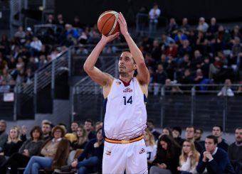 Andrea Saccaggi Virtus Roma - Remer Blu Basket Treviglio Campionato Basket LNP 2018/2019 Roma 23/12/2018 Foto Gennaro Masi / Ciamillo-Castoria