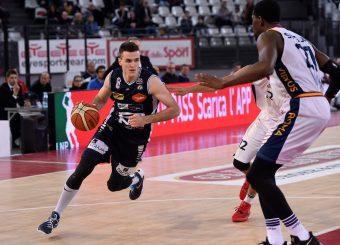 Andrea Pecchia Virtus Roma - Remer Blu Basket Treviglio Campionato Basket LNP 2018/2019 Roma 23/12/2018 Foto Gennaro Masi / Ciamillo-Castoria