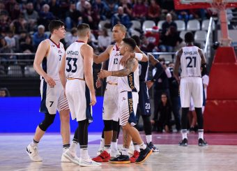 Virtus Roma Virtus Roma - Remer Blu Basket Treviglio Campionato Basket LNP 2018/2019 Roma 23/12/2018 Foto Gennaro Masi / Ciamillo-Castoria