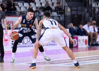 Lorenzo Caroti Virtus Roma - Remer Blu Basket Treviglio Campionato Basket LNP 2018/2019 Roma 23/12/2018 Foto Gennaro Masi / Ciamillo-Castoria