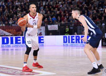 Daniele Sandri Virtus Roma - Remer Blu Basket Treviglio Campionato Basket LNP 2018/2019 Roma 23/12/2018 Foto Gennaro Masi / Ciamillo-Castoria
