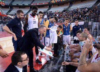 Piero Bucchi Virtus Roma - Remer Blu Basket Treviglio Campionato Basket LNP 2018/2019 Roma 23/12/2018 Foto Gennaro Masi / Ciamillo-Castoria