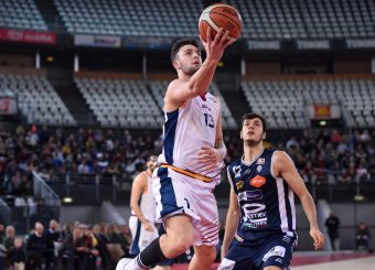 Tommaso Baldasso Virtus Roma - Remer Blu Basket Treviglio Campionato Basket LNP 2018/2019 Roma 23/12/2018 Foto Gennaro Masi / Ciamillo-Castoria