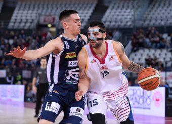 Aristide Landi Virtus Roma - Remer Blu Basket Treviglio Campionato Basket LNP 2018/2019 Roma 23/12/2018 Foto Gennaro Masi / Ciamillo-Castoria