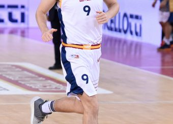 Edoardo Lucarelli Virtus Roma - Remer Blu Basket Treviglio Campionato Basket LNP 2018/2019 Roma 23/12/2018 Foto Gennaro Masi / Ciamillo-Castoria