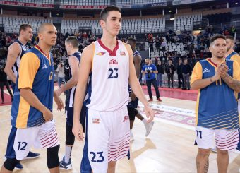 Bojan Matic Virtus Roma - Remer Blu Basket Treviglio Campionato Basket LNP 2018/2019 Roma 23/12/2018 Foto Gennaro Masi / Ciamillo-Castoria