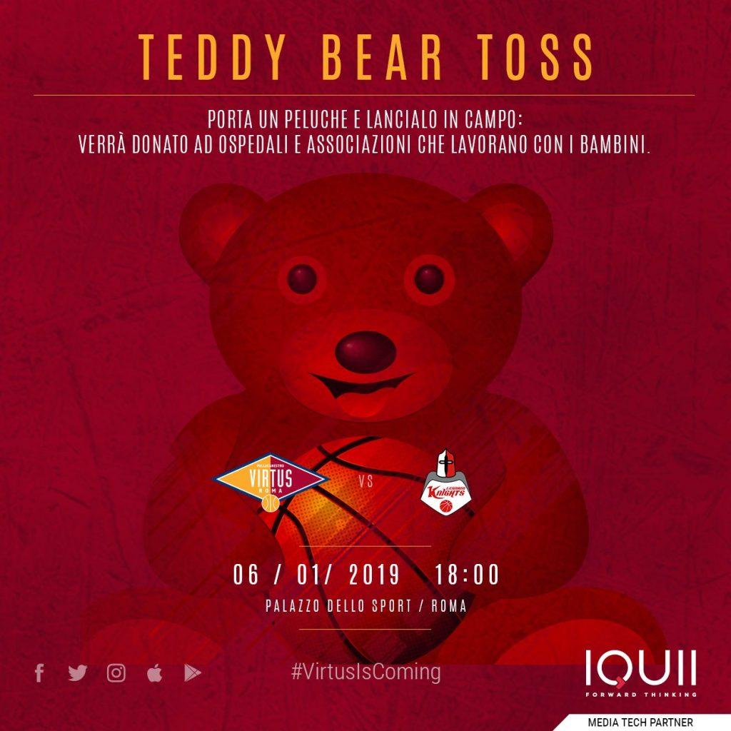 Teddy Bear Toss - Virtus Roma