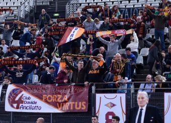 Tifosi Virtus Roma Virtus Roma - Axpo Legnano Campionato Basket LNP 2018/2019 Roma 06/01/2019 Foto Gennaro Masi / Ciamillo-Castoria