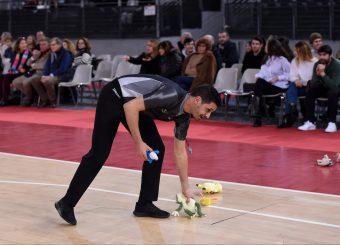 Teddy Bear Toss Virtus Roma - Axpo Legnano Campionato Basket LNP 2018/2019 Roma 06/01/2019 Foto Gennaro Masi / Ciamillo-Castoria