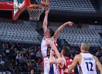 Amar Alibegovic Virtus Roma - Axpo Legnano Campionato Basket LNP 2018/2019 Roma 06/01/2019 Foto Gennaro Masi / Ciamillo-Castoria