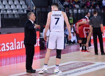 Virtus Roma Amar Alibegovic Virtus Roma - Axpo Legnano Campionato Basket LNP 2018/2019 Roma 06/01/2019 Foto Gennaro Masi / Ciamillo-Castoria
