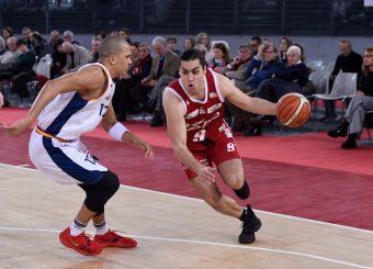 Sebastiano Bianchi Virtus Roma - Axpo Legnano Campionato Basket LNP 2018/2019 Roma 06/01/2019 Foto Gennaro Masi / Ciamillo-Castoria