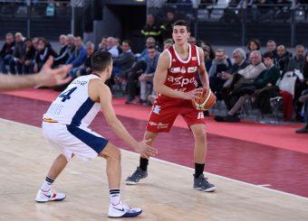 Giordano Bortolani Virtus Roma - Axpo Legnano Campionato Basket LNP 2018/2019 Roma 06/01/2019 Foto Gennaro Masi / Ciamillo-Castoria