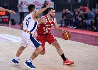 Anthony Raffa Virtus Roma - Axpo Legnano Campionato Basket LNP 2018/2019 Roma 06/01/2019 Foto Gennaro Masi / Ciamillo-Castoria