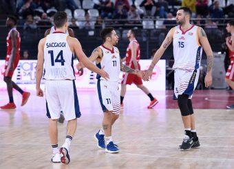 Nic Moore Aristide Landi Virtus Roma - Axpo Legnano Campionato Basket LNP 2018/2019 Roma 06/01/2019 Foto Gennaro Masi / Ciamillo-Castoria