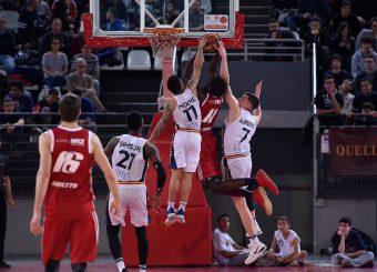 Nic Moore Amar Alibegovic Virtus Roma - Axpo Legnano Campionato Basket LNP 2018/2019 Roma 06/01/2019 Foto Gennaro Masi / Ciamillo-Castoria