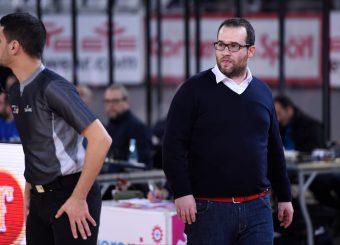 Giancarlo Sacco Virtus Roma - Axpo Legnano Campionato Basket LNP 2018/2019 Roma 06/01/2019 Foto Gennaro Masi / Ciamillo-Castoria